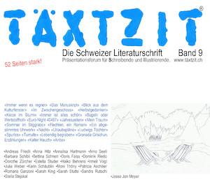 Cover der Täxtzit, Ausgabe 9   Referenzen
