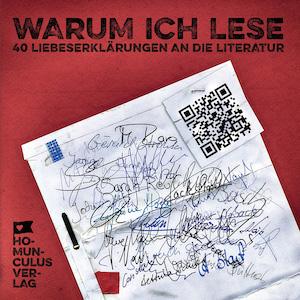 Cover: Warum ich lese. 40 Liebeserklärungen an die Literatur   Referenzen